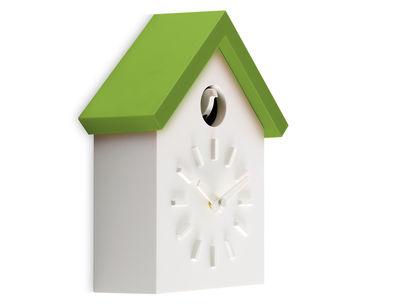 Horloge murale Cu-Clock à coucou - Magis vert en matière plastique