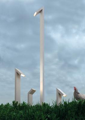 Lampadaire Chilone LED / H 250 cm - Pour l'extérieur - Artemide métal en métal