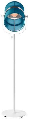 Lampadaire solaire La Lampe Paris LED / Sans fil - Maiori blanc,turquoise en métal