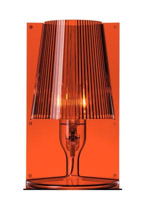 Lampe de table Take - Kartell ambre en matière plastique