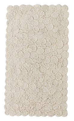 Furniture - Carpets - Spiral Rug - 80 x 140 cm by Nanimarquina - Ivory / 80 x 140 cm - Wool