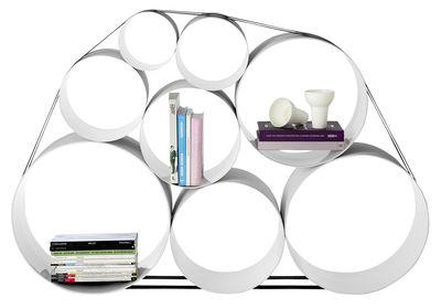 Arredamento - Scaffali e librerie - Scaffale OTO100 di Muuto - Bianco - Fibra di vetro