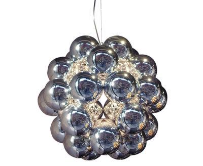 Illuminazione - Lampadari - Sospensione Beads - Penta - Ø 54 cm di Innermost - Argento - Acciaio inossidabile, policarbonato
