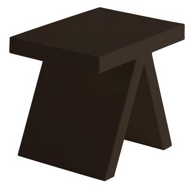 Table d'appoint Toy - Slide marron en matière plastique