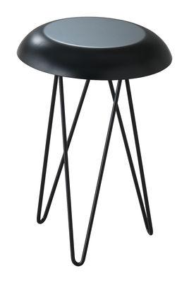 Image of Tavolino d'appoggio Meduse - Ø 30 x H 44 cm di Casamania - Nero - Metallo