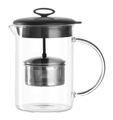 Tableware - Tea - Teapot - 500 ml by Leonardo - Transparent - Glass, Metal