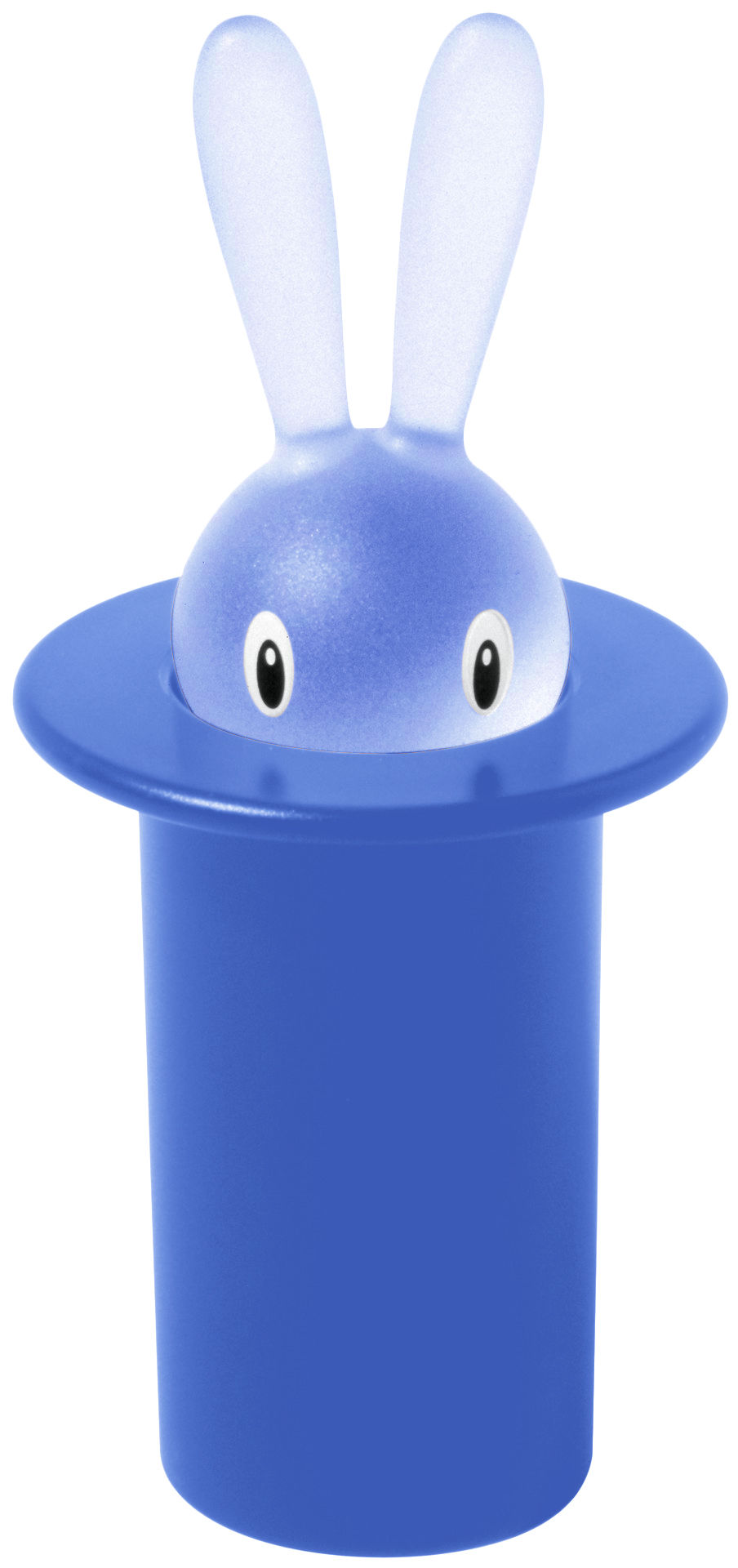 Kitchenware - Fun in the kitchen - Magic Bunny Toothpick holder by A di Alessi - Blue - Plastic material