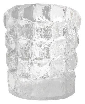 Decoration - Vases - Matelasse Vase - / Basket / Ice buket by Kartell - Clear - Polycarbonate
