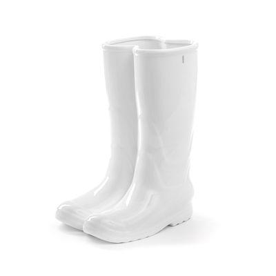 Déco - Vases - Vase My Rainboots / Porcelaine - H 36 cm - Seletti - Blanc - Porcelaine