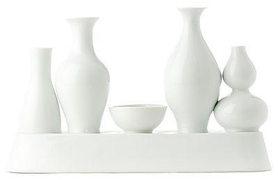 Dekoration - Vasen - Shanghai Vase - Pols Potten - Weiß - Lackiertes Porzellan