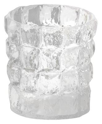 Interni - Vasi - Vaso Matelasse di Kartell - Cristallo - policarbonato