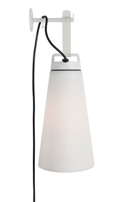 Lighting - Table Lamps - wall hook - / For Sasha lamp by Carpyen - White - Lacquered steel
