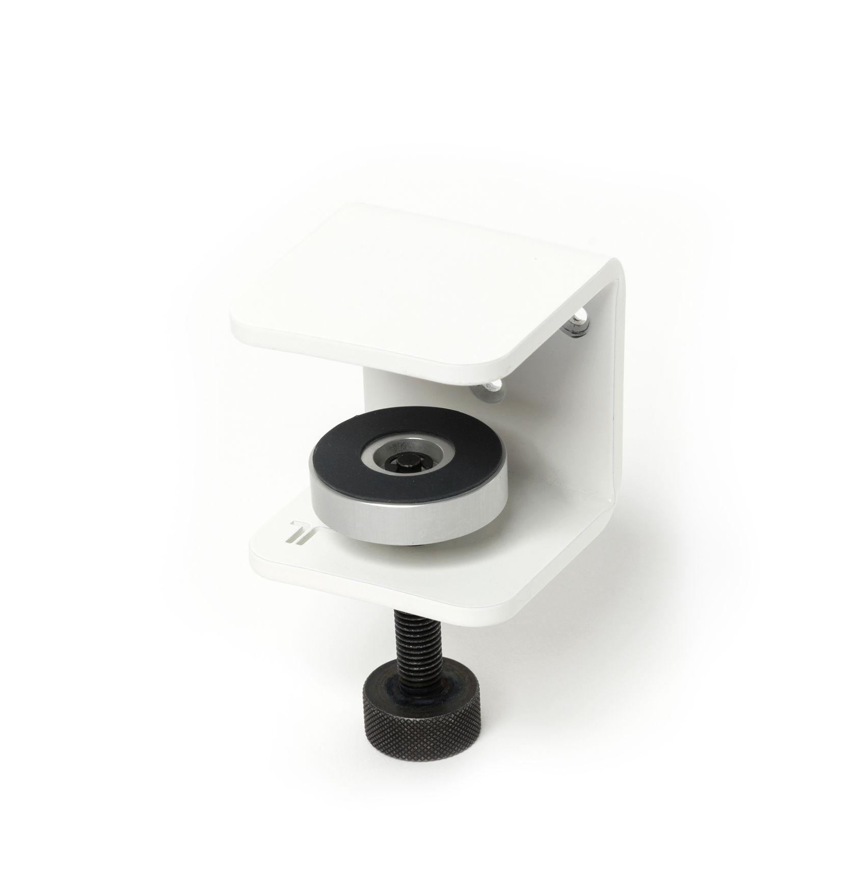 Möbel - Regale und Bücherregale - Bracket Wandhalter / Mit Schraubzwinge - Um ein Regal zu gestalten - TipToe - Wolken-weiß - thermolackierter Stahl