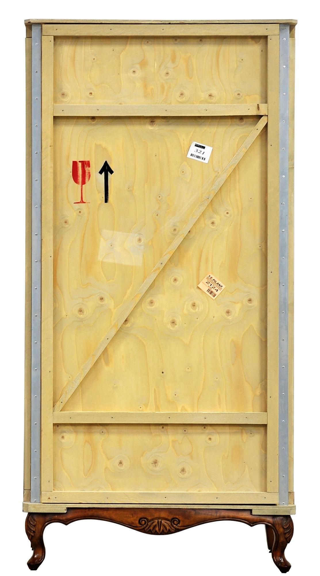 Export Como Armadio - / L 100 x H 202,5 cm Legno chiaro / Base legno ...