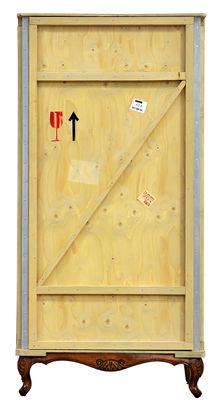 Armoire Export Como / L 100 x H 202,5 cm - Seletti bois foncé,bois clair en bois