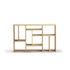 Bibliothèque M Small / Chêne massif - L 90 x H 139 cm - Ethnicraft
