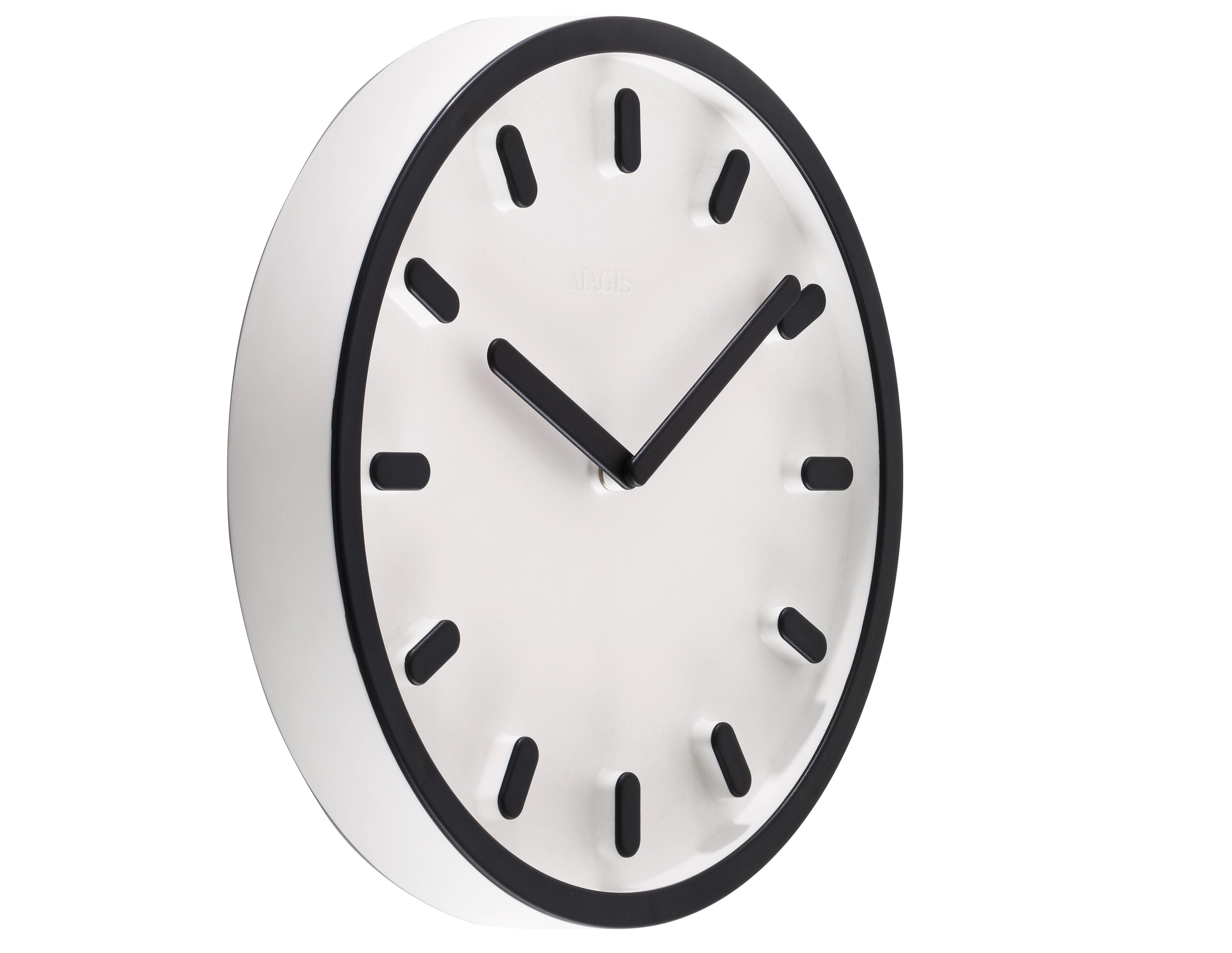 Déco - Horloges  - Horloge murale Tempo - Magis - Noir - ABS