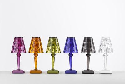 Scopri Lampada senza fili Battery LED - Ricarica USB, Prugna di ...