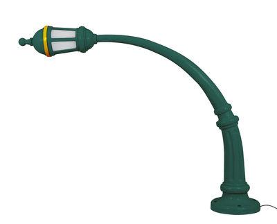 Lampadaire Street Lamp Outdoor / Résine - L 242 x H 190 cm - Seletti vert en matière plastique