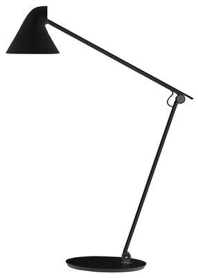 Lampe de table NJP / LED - Bras articulé - Louis Poulsen noir en métal