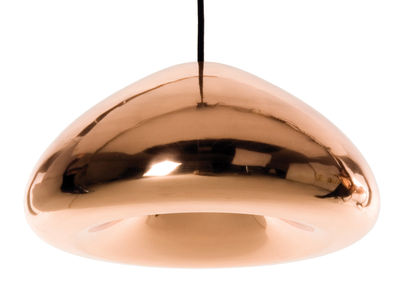 Leuchten - Pendelleuchten - Void Pendelleuchte - Tom Dixon - Kupfer - Kupfer