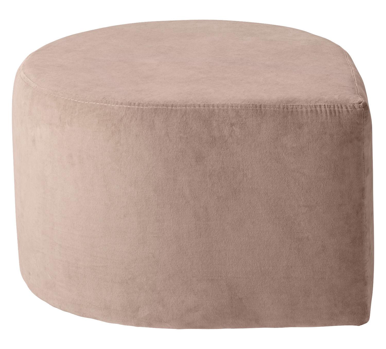 Furniture - Poufs & Floor Cushions - Stilla Pouf - Velvet by AYTM - Pink - Velvet