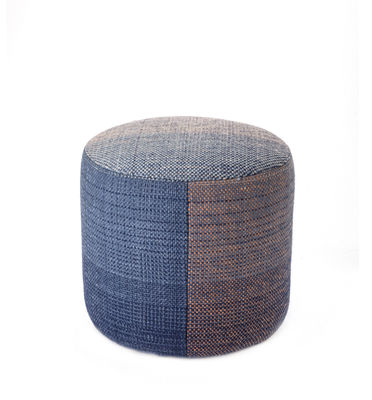 Shade 2B Sitzkissen / neuseeländische Wolle - Ø 49 cm - Nanimarquina - Blau,Violett