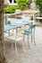 Patio Lames Stackable armchair - / Slats - Steel by Tolix