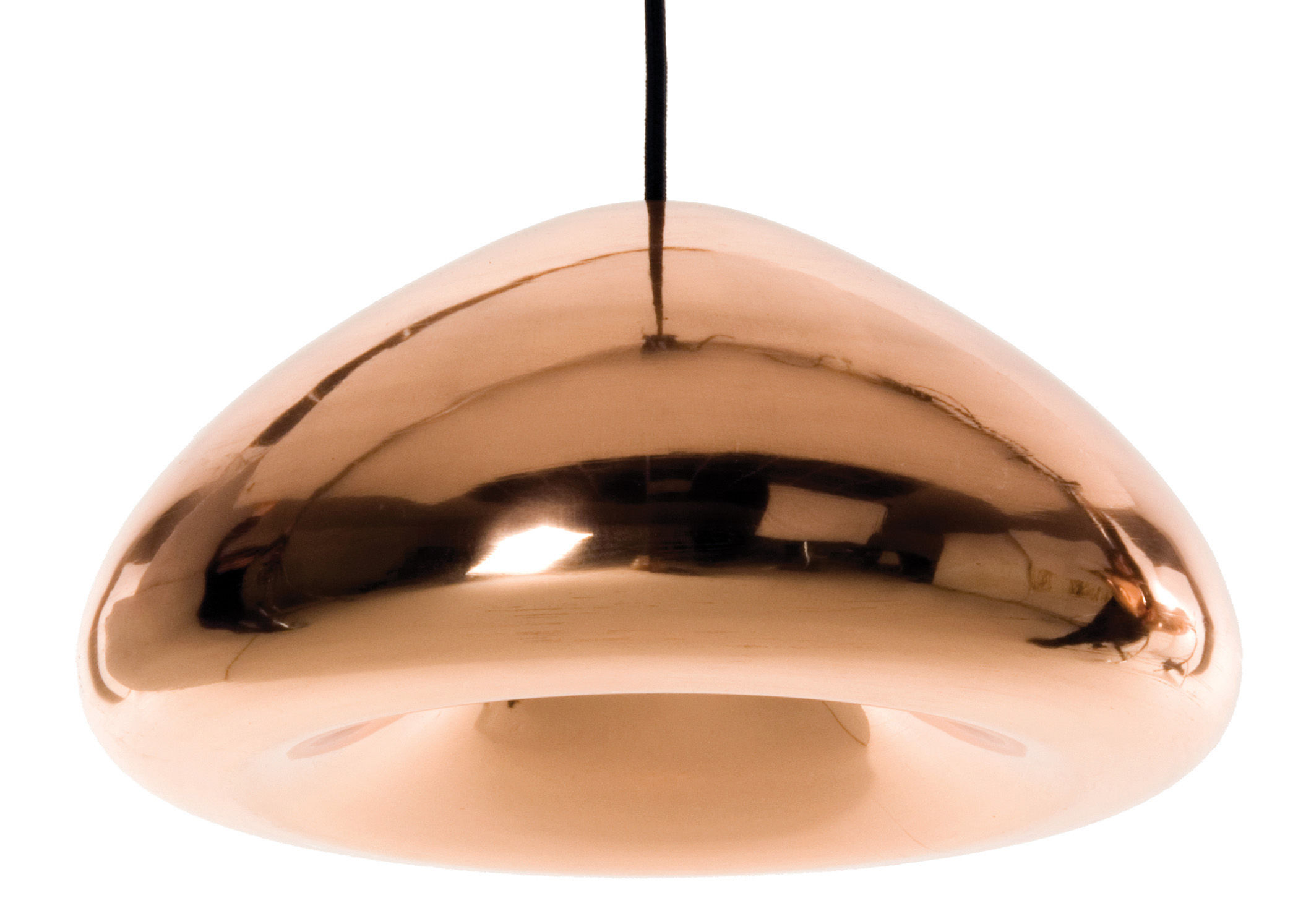 Luminaire - Suspensions - Suspension Void - Tom Dixon - Cuivre - Cuivre