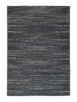 Déco - Tapis - Tapis Vulcano / 170 x 240 cm - Toulemonde Bochart - Noir - Coton, Jute, Soie végétale