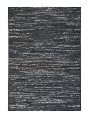 Interni - Tappeti - Tappeto Vulcano - / 170 x 240 cm di Toulemonde Bochart - Nero - Cotone, Iuta, Seta vegetale