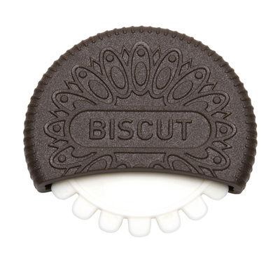 Accessoires - Pratique et malin - Ustensile Biscut / Découpe biscuits - Pa Design - Marron foncé / Blanc - Plastique dur