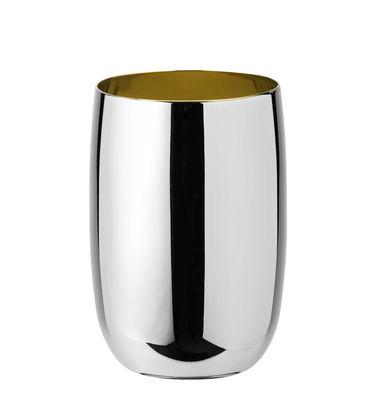Verre Foster / Acier - 0,2 L - Stelton acier,doré en métal