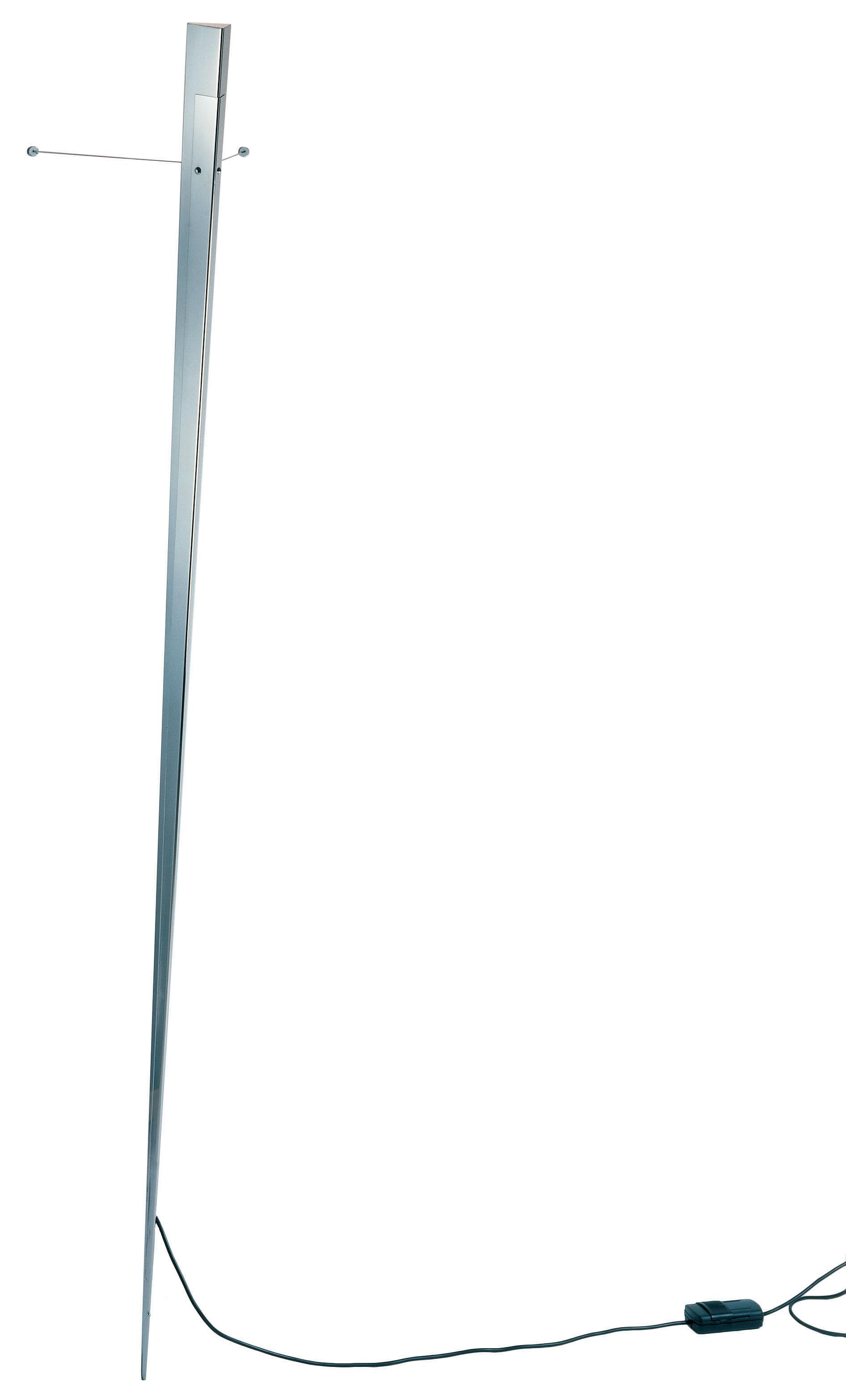 Leuchten - Wandleuchten - Torchere Wandleuchte - Lumen Center Italia - Edelstahl, gebürstet - gebürsteter Edelstahl