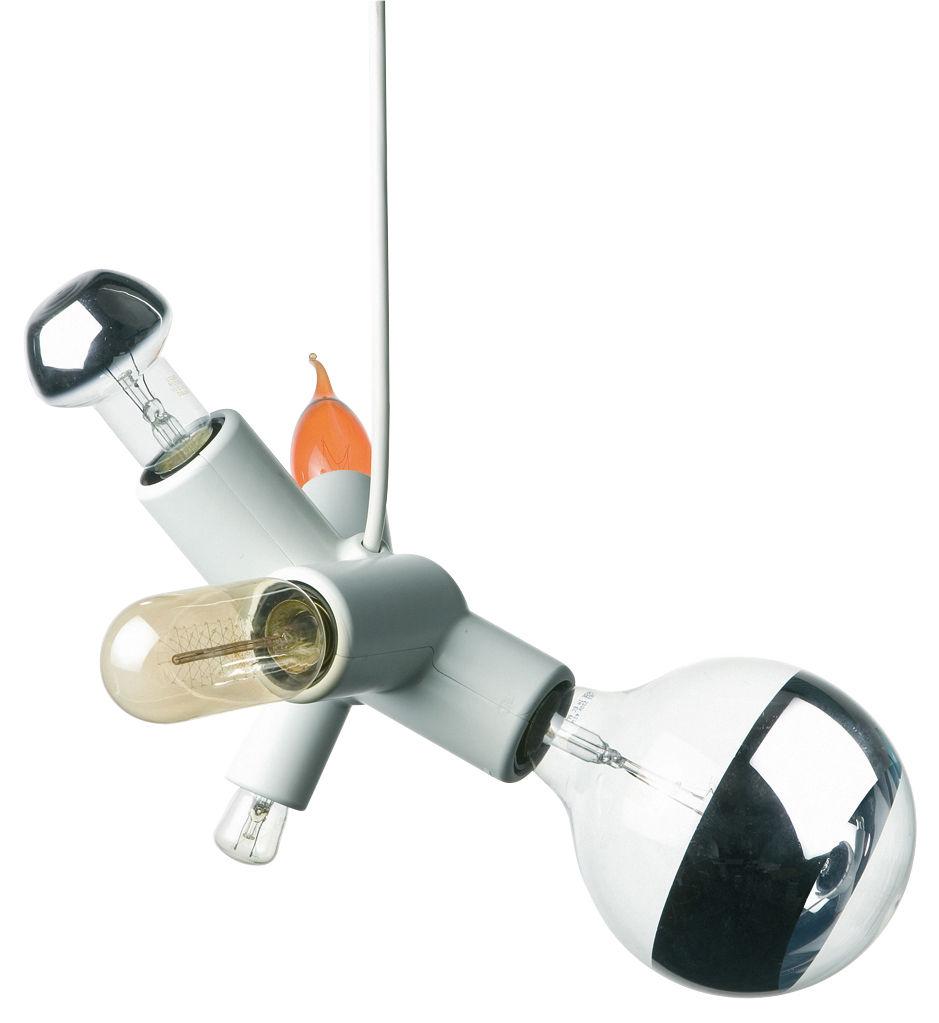 Luminaire - Ampoules et accessoires - Ampoule Modèle A / Set 5 ampoules - Pour suspension Cluster - Moooi - Transparent - Verre