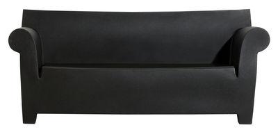 Canapé 2 places Bubble Club L 189 cm Kartell noir en matière plastique