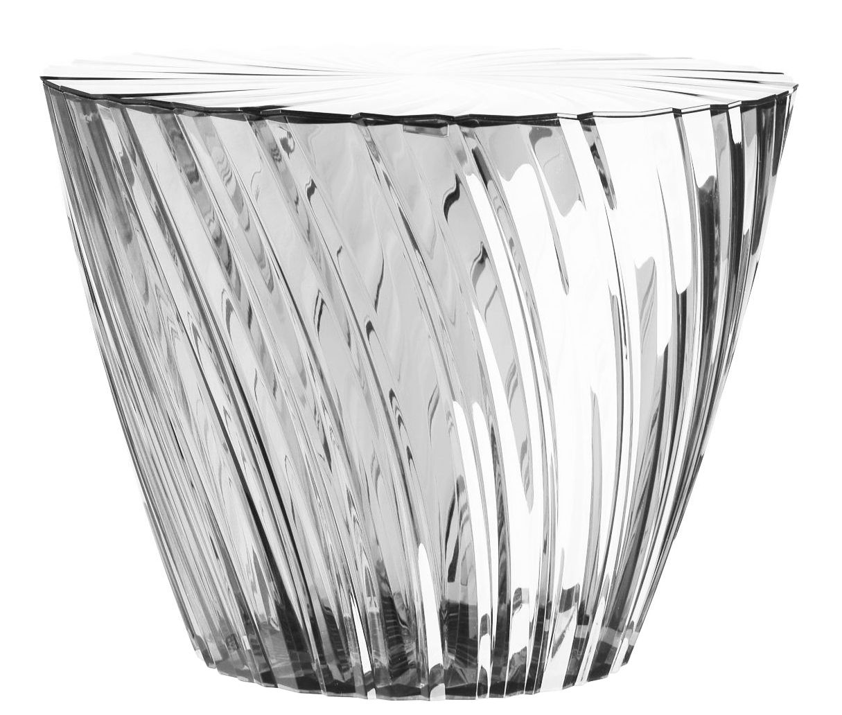 Furniture - Coffee Tables - Sparkle Coffee table by Kartell - Clear - PMMA