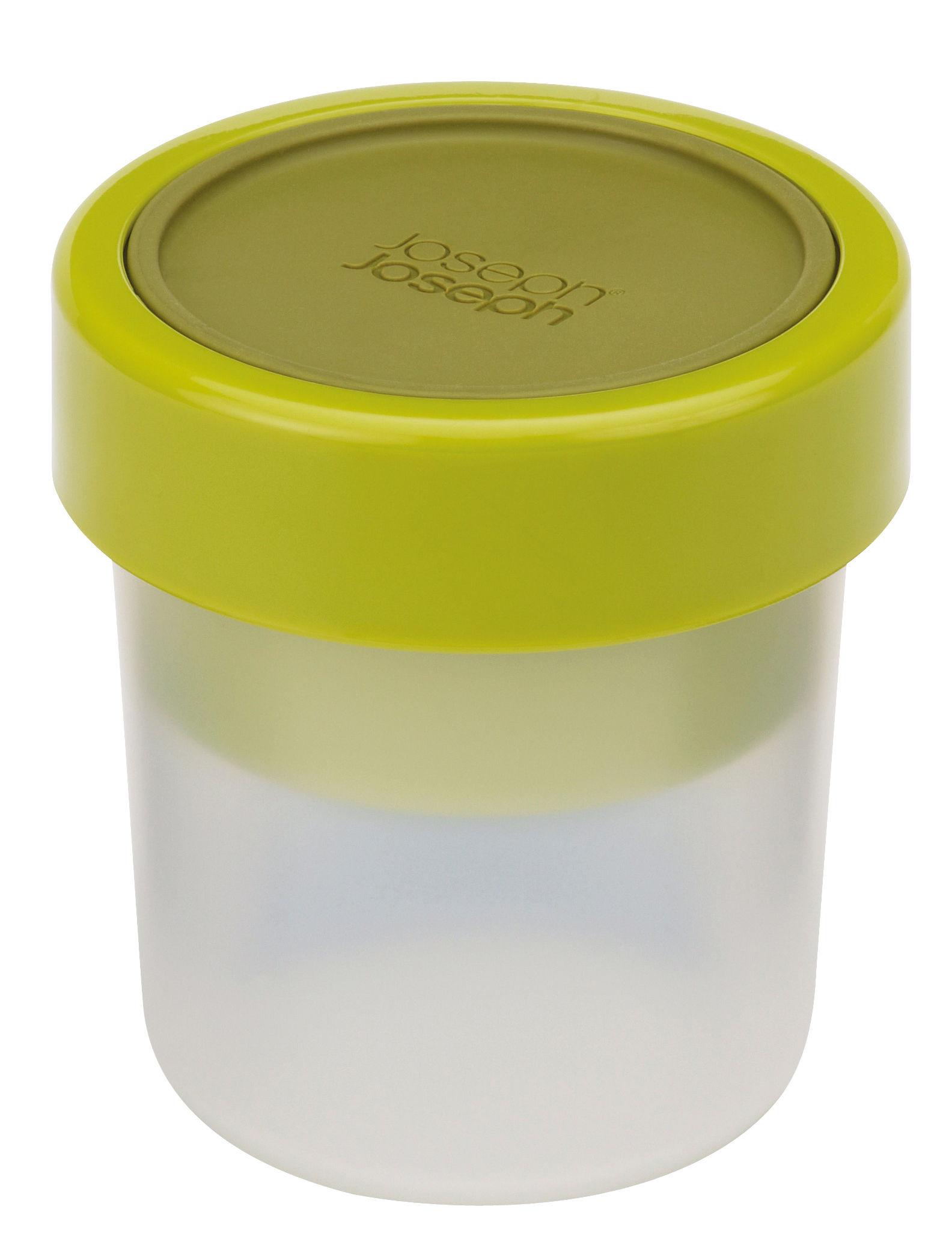 Cucina - Lattine, Pentole e Vasi - Contenitore ermetico GoEat - / Spuntino - Set da 2 scatole impilabili di Joseph Joseph - Verde - Polipropilene, Silicone