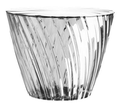 Möbel - Couchtische - Sparkle Couchtisch / Ø 45 x H 35 cm - Kartell - Transparent (farblos) - PMMA