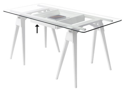 Furniture - Office Furniture - Drawer by Design House Stockholm - Drawer / White - Lacquered solid wood