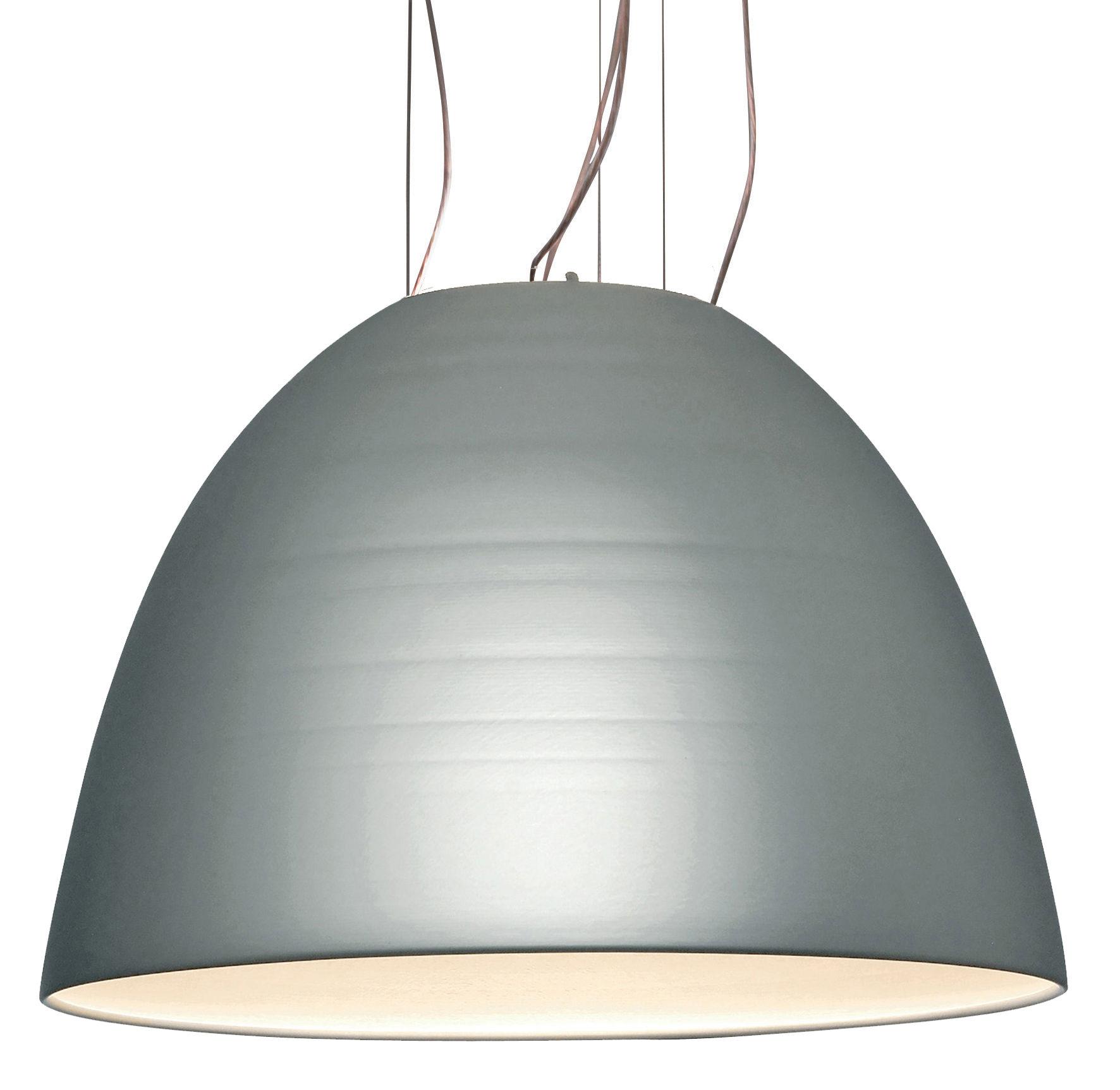 Leuchten - Pendelleuchten - Nur 1618 Pendelleuchte - Artemide - Eloxiertes Aluminium - Halogen - Aluminium