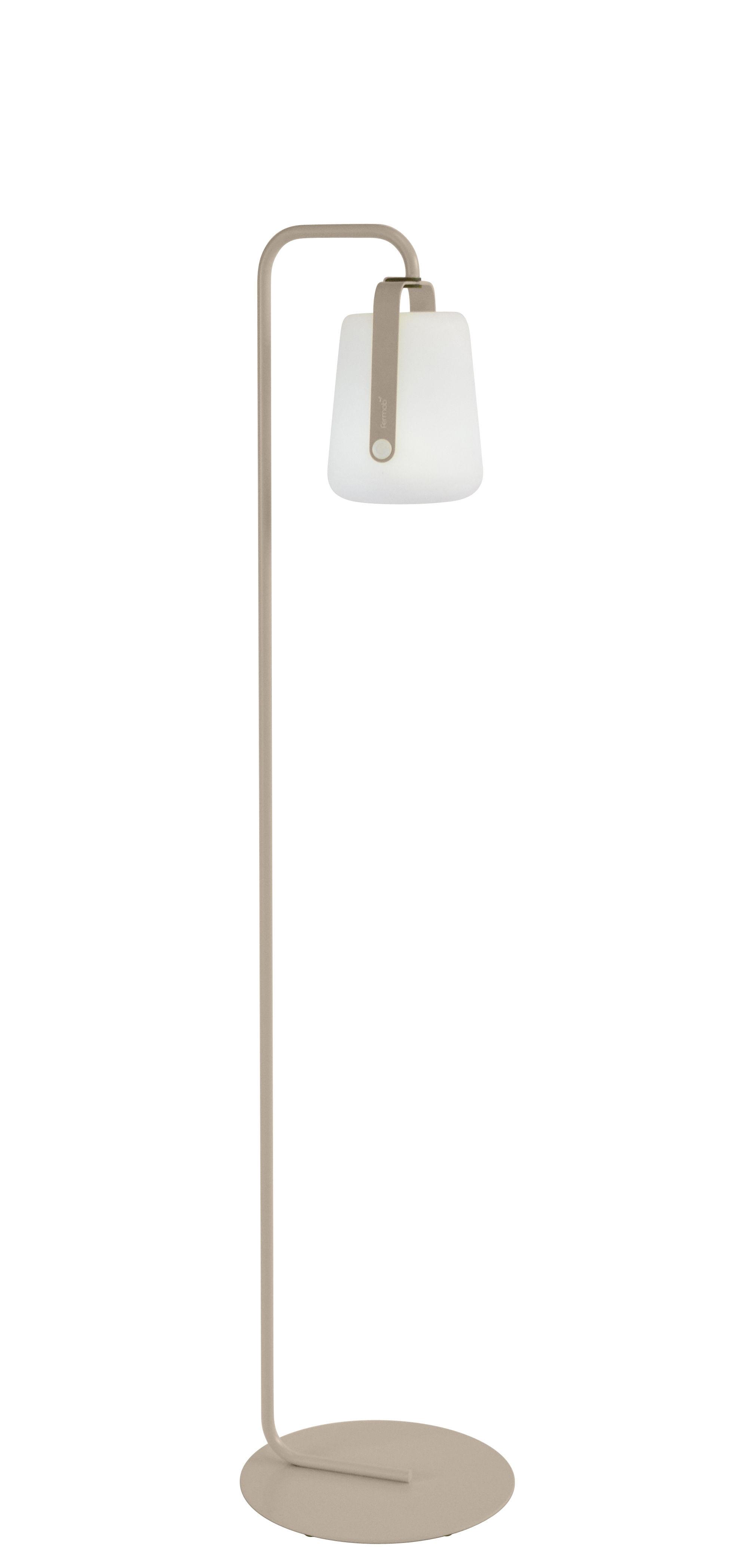 Illuminazione - Lampade da terra - Base per lampada Balad / Small H 157 cm - Fermob - Noce moscata - Acciaio