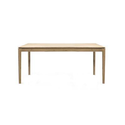 Arredamento - Tavoli - Tavolo con prolunga Bok - / Rovere massello - L 140 a 220 cm / 8 persone di Ethnicraft - 140/220 cm - Rovere - Rovere massello