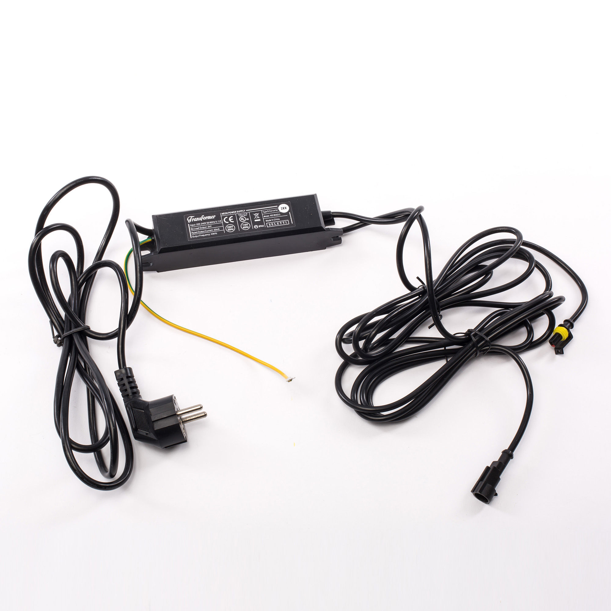 Lighting - Table Lamps - Adapter - For 1 Alphacrete or Alphafont letter by Seletti - 2 kV / Black - Plastic