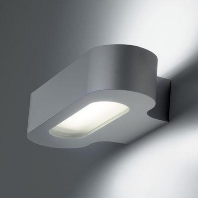 Applique Talo LED / L 21 cm - Artemide gris en métal