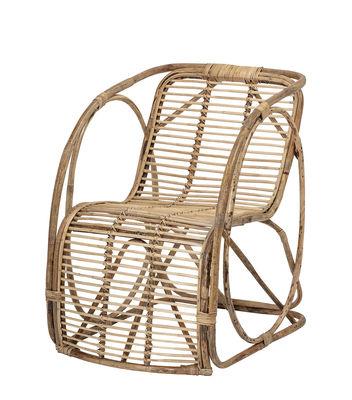 Furniture - Armchairs - Tubo Armchair - / Rattan by Bloomingville - Natural rattan - Rattan