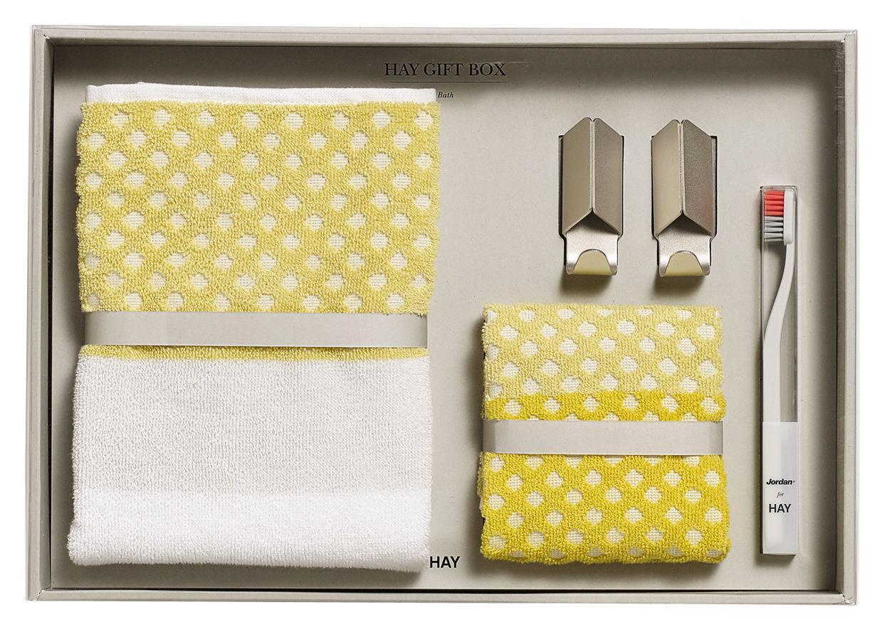 bain medium 2 handt cher 2 haken 1 zahnb rste hay box. Black Bedroom Furniture Sets. Home Design Ideas