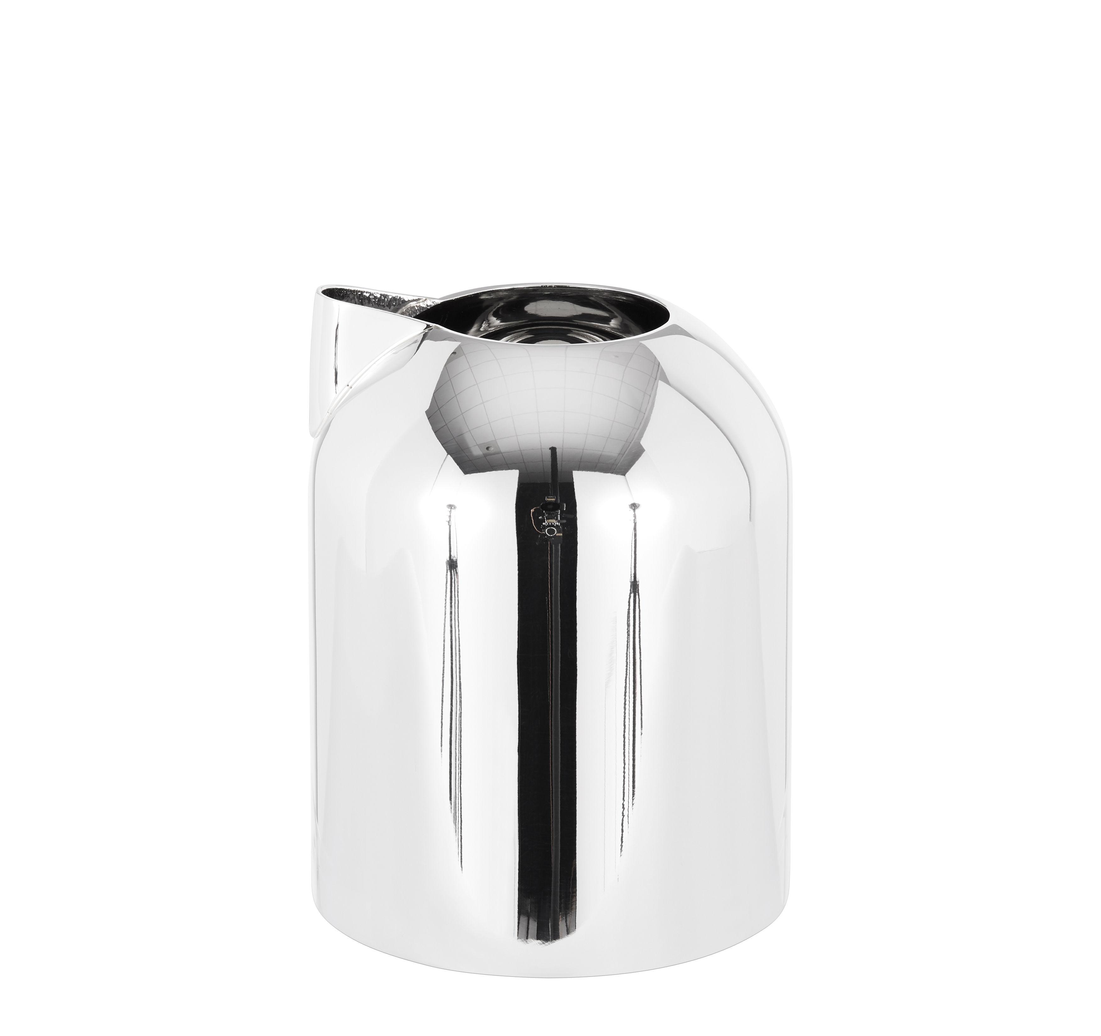 Tavola - Caffè - Bricco per latte Form di Tom Dixon - Acciaio lucidato - Acciaio inossidabile lucido