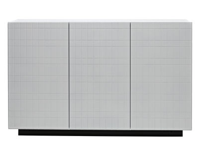 Buffet Toshi / Modèle n°4 - L 136 x H 86 cm - Casamania blanc en bois