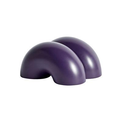 Accessoires - Pratique et malin - Cale-porte W&S - Double Donut / Résine - Hay - Violet - Résine